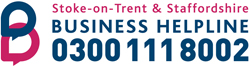 Staffordshire and Stoke on Trent Business Helpline 0300 111 8002