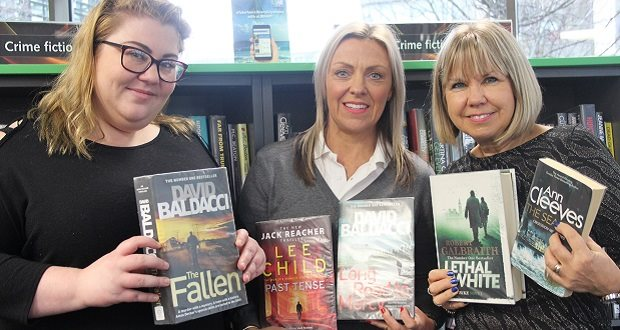 Top 10 most borrowed books in Staffordshire revealed