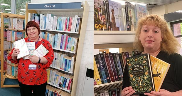 Staffordshire libraries staff shortlisted for national award