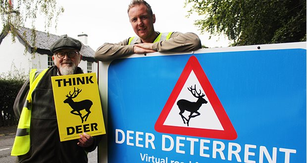 Successful deer deterrent scheme expanded