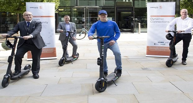 Electric scooter trial launched in Newcastle and Stafford