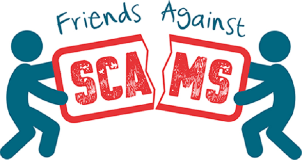 People urged to join 'Friends Against Scams' to help beat the scammers