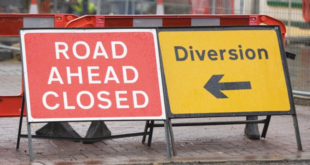 Update on roadworks at Crown Street, Stone
