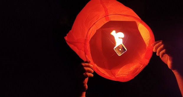 People reminded not to use sky lanterns when showing their support for NHS staff