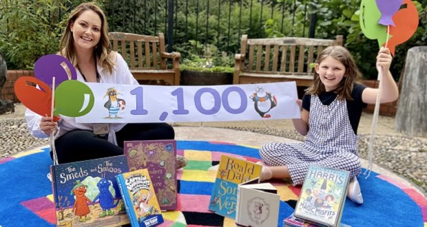 Over 1,100 children sign up for libraries Summer Reading Challenge