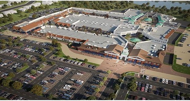 Main road improvements near new designer outlet move to next phase