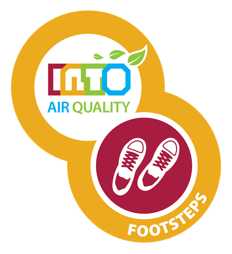 INTO Footsteps Logo