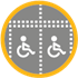 Disabled bays