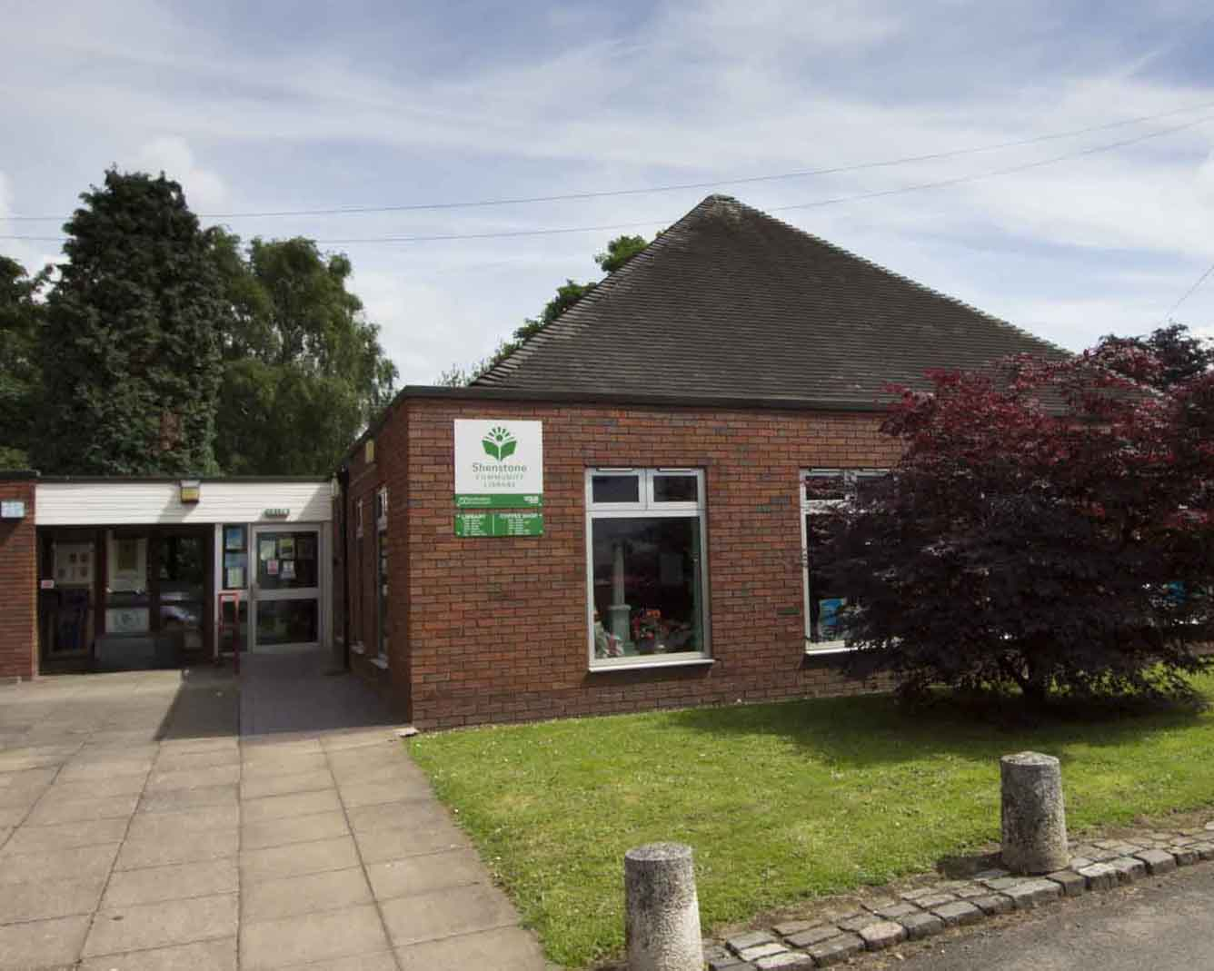 Exterior of Shenstone Library