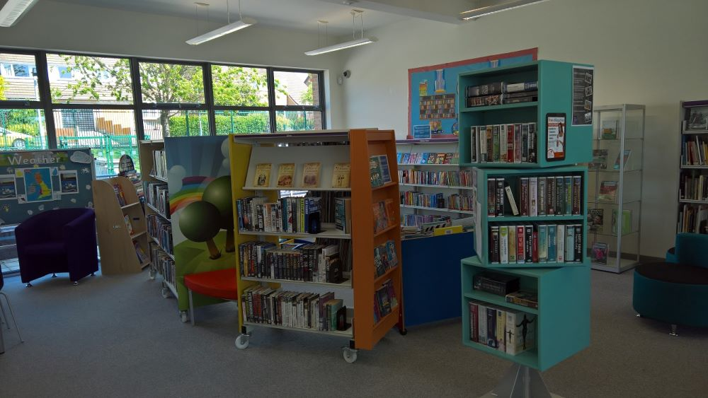 Talke Library inside