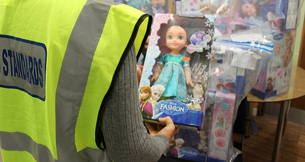 Fake must-have Christmas toys seized in Staffordshire