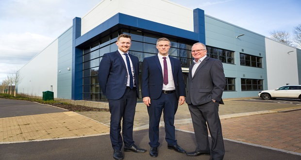 Leading manufacturer relocates to Staffordshire business park