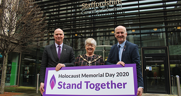 Staffordshire remembers on Holocaust Memorial Day