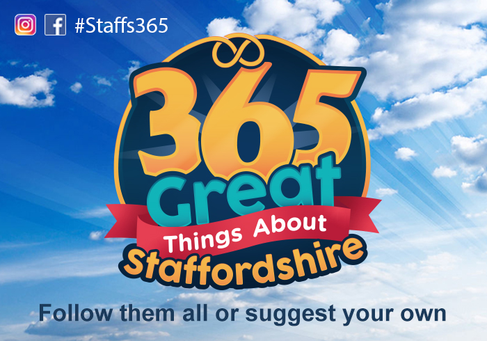 365 great things about Staffordshire